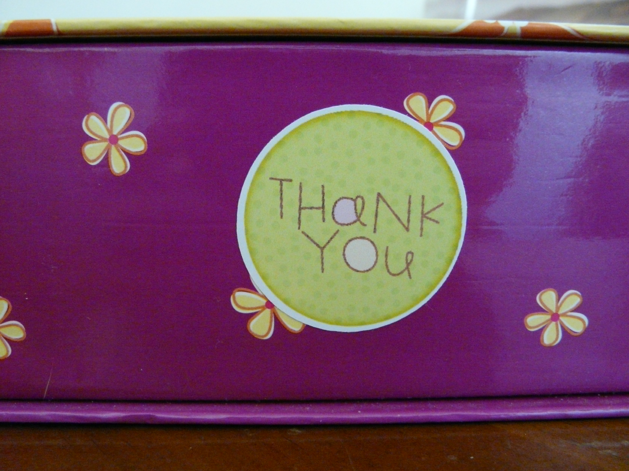 Thank You Note www.loveandtreasure.com