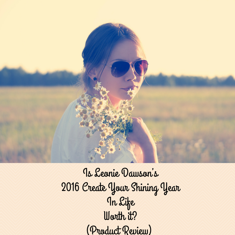 Is Leonie Dawson's 2016 Create Your Shining Year in Life Workbook Worth it? Leonie Dawson Workbook Product Review by Haydee Montemayor from Love and Treasure blog you can find at www.loveandtreasure.com