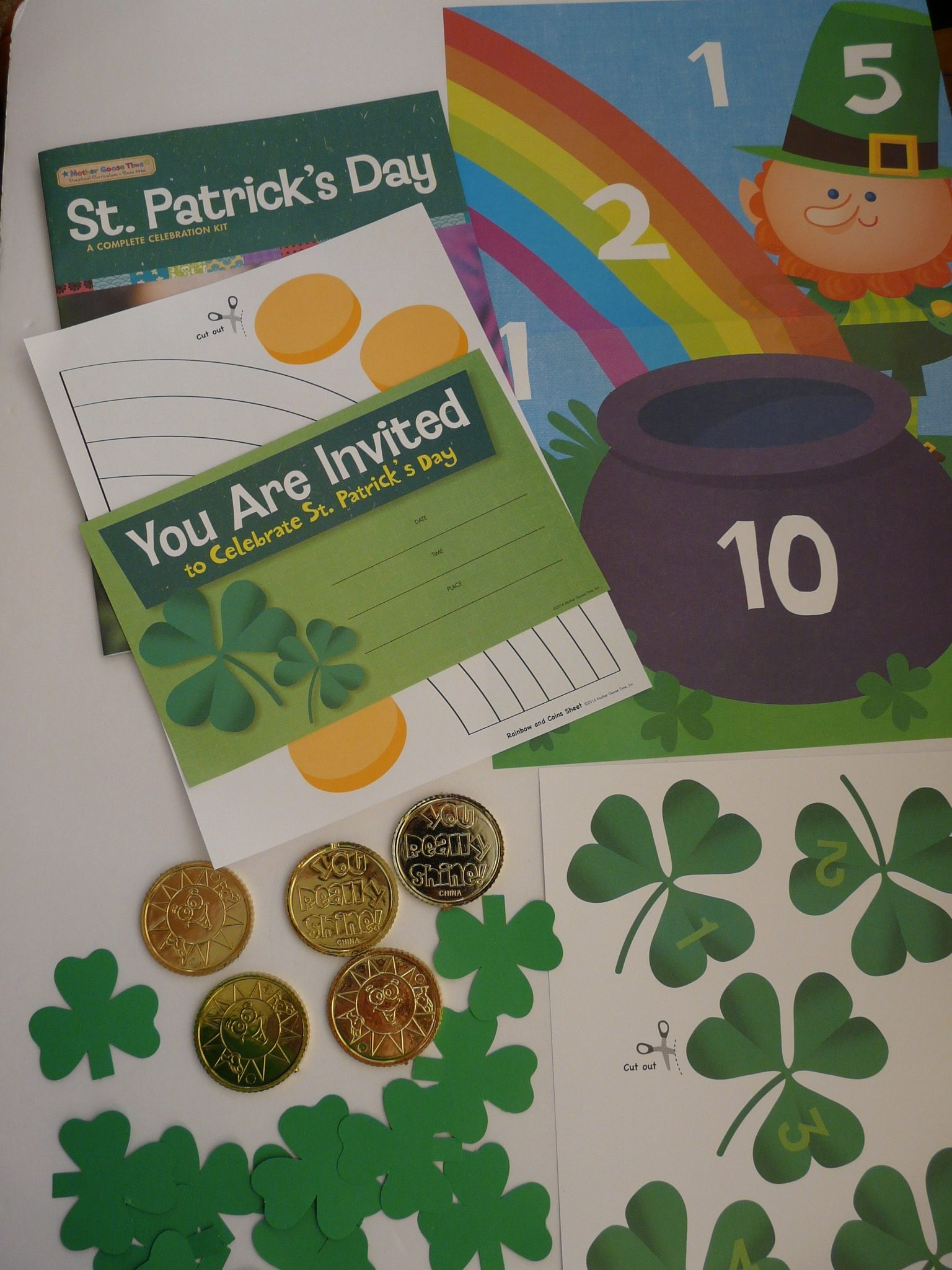 "MGT St. Patrick""s Curriculum by Haydee Montemayor from Love and Treasure Blog you can find at www.loveandtreasure.com"