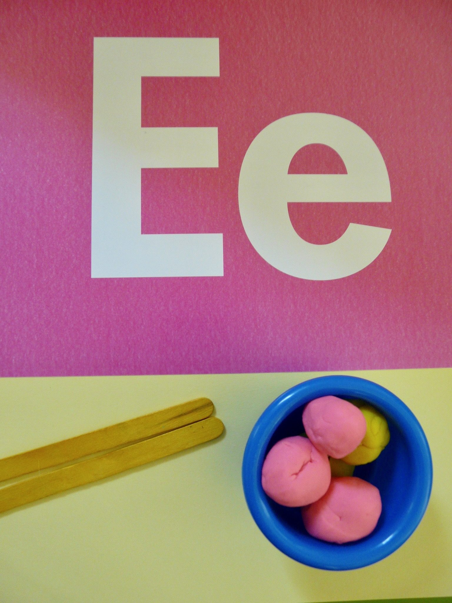 Letter E by Haydee Montemayor from Love and Treasure blog www.loveandtreasure.com