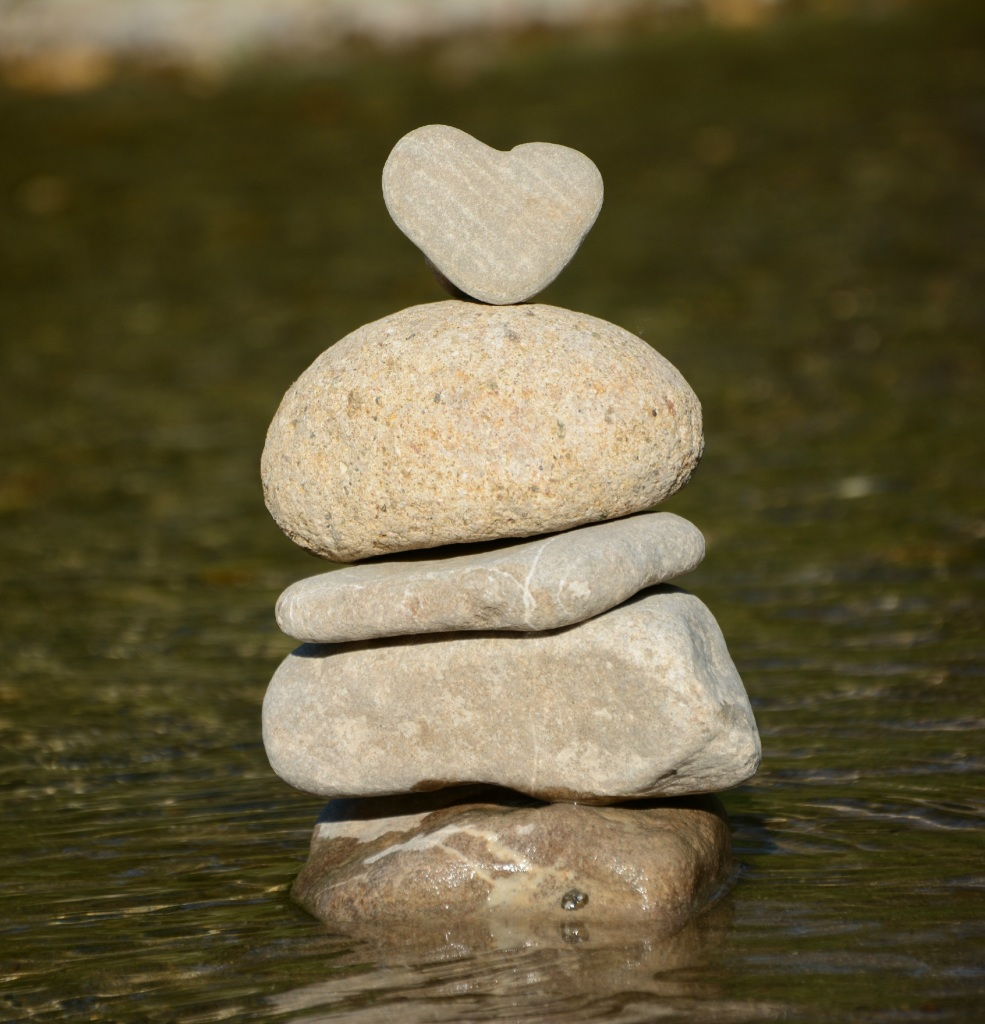 heart and pebbles, www.loveandtreasure, Love and Treasure