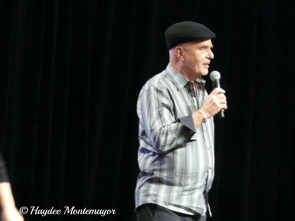 Dr. Wayne Dyer photo taken by Haydee Montemayor author of The Love and Treasure Blog found at www.loveandtreasure.com