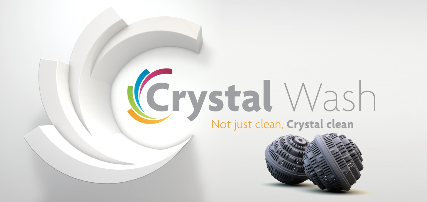 Picture of Crystal Wash logo and slogan for the Love and Treasure post titled Is Crystal Wash Totally Worth It? written by Haydee Montemayor.