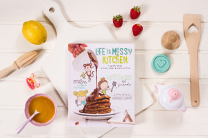 Life Is Messy Kitchen Cookbook is part of the Holiday Gift Guide 2015 from Love and Treasure by Haydee Montemayor
