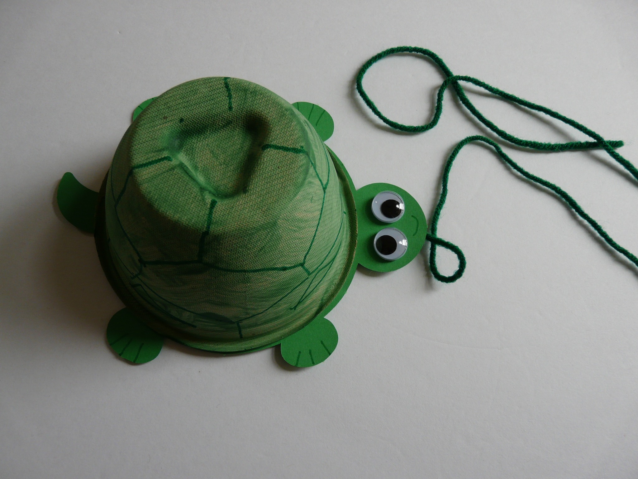 Turtle Pull Toy by Haydee Montemayor from Love and Terasure Blog www.loveandtreasure.com