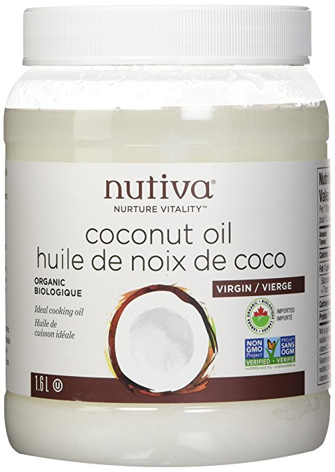 Nutiva coconut oil from Love and Treasure blog by Haydee Montemayor